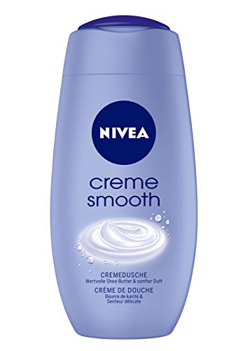 Nivea Creme Smooth Duschgel, 2er Pack (2 x 250 ml)
