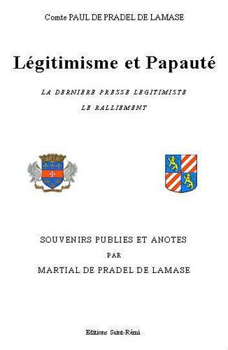 Légitimisme et Papauté