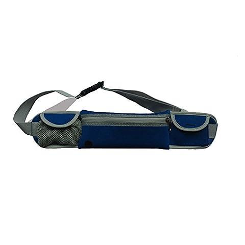 Revesun (Blue)Running Belt Fits All Smartphones - Best Waist Pack