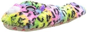 Ty Pantuflas Medianas, tamaño 33 - Dotty Le Leopard, Multicolor