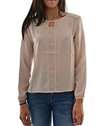 tee shirt manches longues lee cooper dany ml 5091 rose