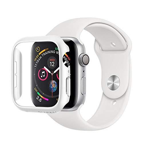 Spigen Thin Fit Compatible avec Apple Watch Case pour 44mm Series 5 / Series 4 - Blanc
