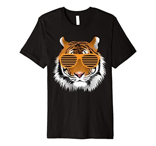 Geburtstag Shirt für Boy Cool Tiger Gestreift Tier Thema Party