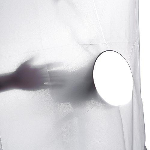 Neewer® 2 Yarda x 60 pulgadas / 1,8 x 1,5 m Paño de Seda de Nylon Blanco Difusión sin Fisuras de Caja de Luz de Fotografía, Luz de Tienda de Campaña de Luz de la