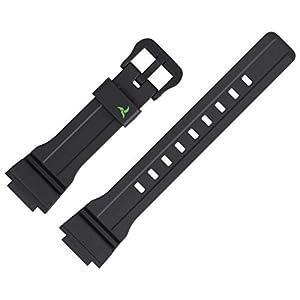 Casio Uhrenarmband STL-S300H Ersatzband 21mm Kunststoff Schwarz – STL S300H