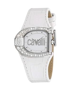 Just Cavalli R7251160545 - Reloj de mujer de cuarzo, correa de piel color blanco de Just Cavalli