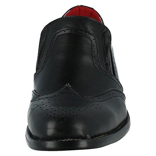 Chaussures Richelieu pour homme Maverick Slip sur chaussures Noir