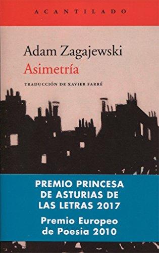 Portada del libro Asimetría (El Acantilado)