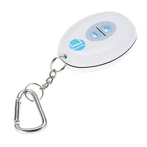 KKmoon Mini Localizador GPS Buscador de Llavero Inteligente Impermeable Libre APP + Cable USB para Niños Mascota