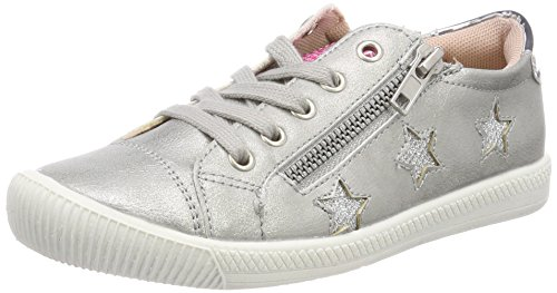 Indigo Schuhe Mädchen 432 122 Sneaker, Blau (Silver), 34 EU