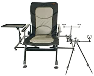 TF Gear Bank Boss Chair (With Free Side Tray)