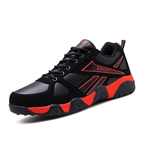 Hommes Mode Sneaker Imperméable Chaussures De Plein Air Respirant Antidérapant Cushioning Chaussures Léger Chaussures De Course 38-44
