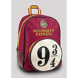 41Pd%2B1FAK9L. SS300  - Groovy - Harry Potter Hogwarts Express - Mochila, con diseño 9 & 3/4, Color Rojo, tamaño Mediano