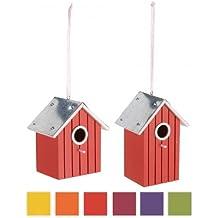 Importacion - Casa pajaros surtido: colores y dimensiones aleatorios