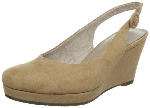 Tamaris 1-1-29622-30, Sandali con la zeppa donna Marrone (Braun (ANTELOPE 375))