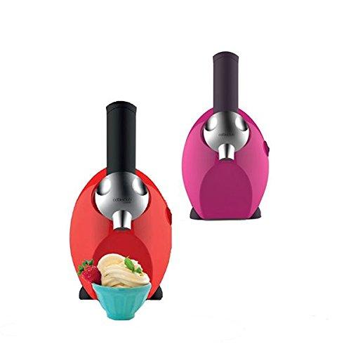 Sogo FDM-SS 5245Gelatiera, per frutta congelata, 150W, Rosso/Nero