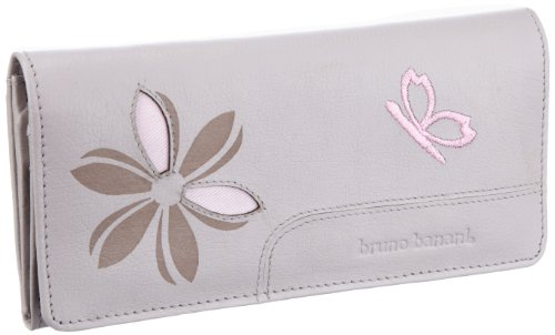Bruno Banani Butterfly_1 W 320.824, Damen Portemonnaies, Grau (grey), 19x10x3 cm (B x H x T)