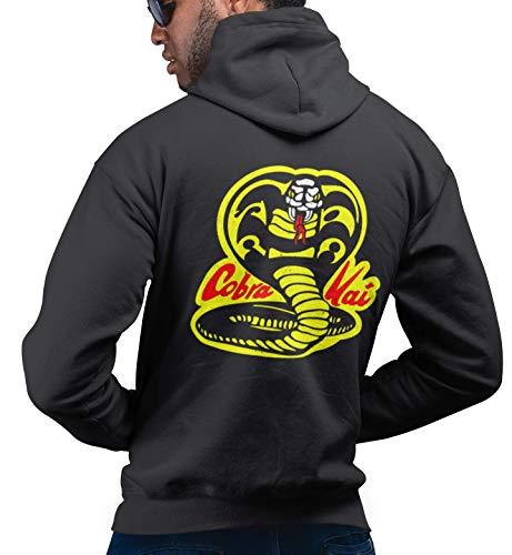 Xl Cobra Kai Kostüm - Jonny Cotton Film Fan-Art - Cobra Kai - Herren Damen Unisex Karate Film Hoodie