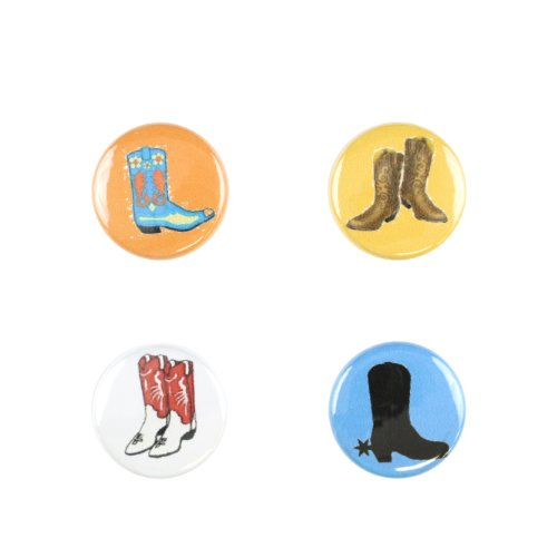 Il Bere C-JFF-C Wein und Getr-nke Charms Fun Collection - Cowboy Boots