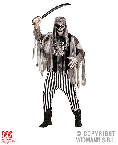 Enter-Deal-Berlin KOSTÜM - Geister Pirat - Größe 50 (M), Geisterschiff Untoter Untote Tod Skelette unsichtbar - Spiel Des Todes Baby Kostüm
