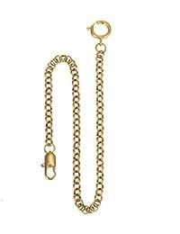 Montre de poche Chaîne - Cuivre ManChDa Chaîne de montre avec crochet Lien 14 pouces d'or Magnifique Chaîne de gilet