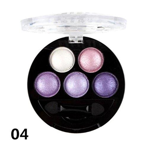 Solike Professionelle Augen Make-up Pigment Lidschatten Lidschatten-Palette (4)