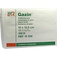 GAZIN Mullkomp.10x12,5 cm unsteril 12fach Op 100 St Kompressen preisvergleich bei billige-tabletten.eu