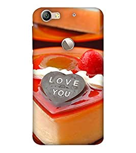 Fixed Price Printed Back Cover For Letv Is (Multicolor)