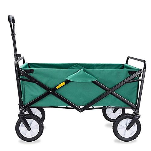 Gartenwagen Outdoor Camping Wagon Beach Sport Picknickwagen Falten Für Das Einfache Tragen Große Raumlast 80KG