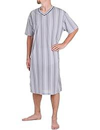 Herrennachthemd manches courtes 100%  coton l xL xXL xXXL
