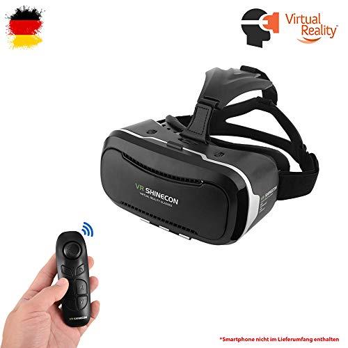 Himoto HSP Universal VR 3D Virtual Reality Brille und Bluetooth-Controller für Smartphones mit...
