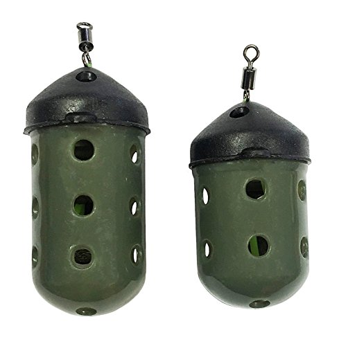 10 Maggot Feeders  Feeder Bomb 15g maggot Feeders