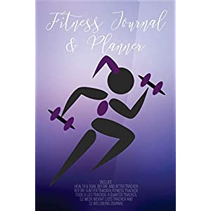 Fitness Journal and Planner: Fitness Agenda, Fitness Planner Binder, Fitness Journal and Planner, Fitness Journal for Women, Fitness Journaling, ... Workout Planner, Fitness Tracker for Women 6