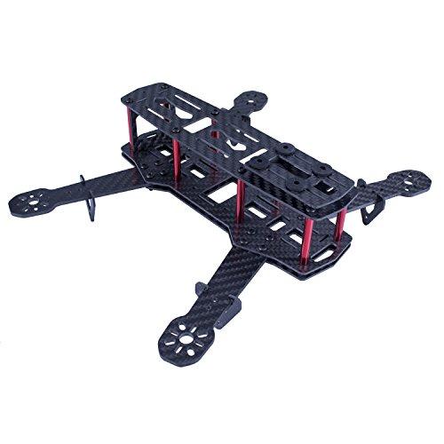 SunFounder 250mm Full Carbon Fiber FPV Mini Race Quadcopter Drone Frame Kit for QAV250