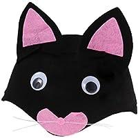 BESTOYARD Tocado de animales de dibujos animados lindo Sombrero de los niños de Kindergarten Cap Regalo