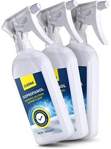 Isopropanol 99,9% IPA 2-Propanol Isopropylalkohol Isopropyl Reinigungsmittel - in Sprayflasche...