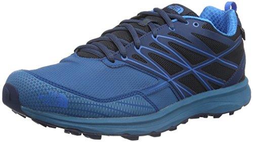 North Face M Litewave Cross Wp Scarpe da Trail Running, Uomo, Multicolore (Blu/Urbnvy/Bulaster), 42