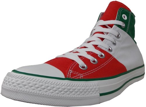Converse Unisex National Pride Sneaker Green/White/Red