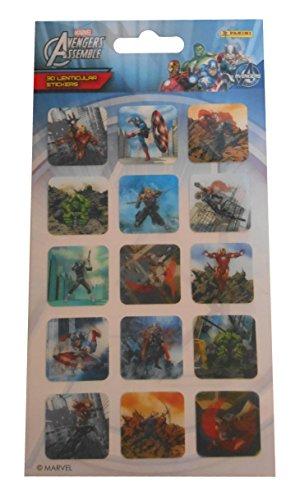 Marvel Panini Avengers 3d Feuille d'autocollants