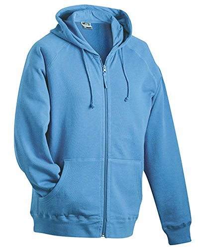 James & Nicholson Herren Sweatshirt Blue