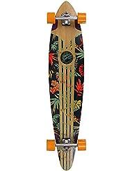 """Mindless Maverick IV Talisman naranja floral Longboard–46"""""""