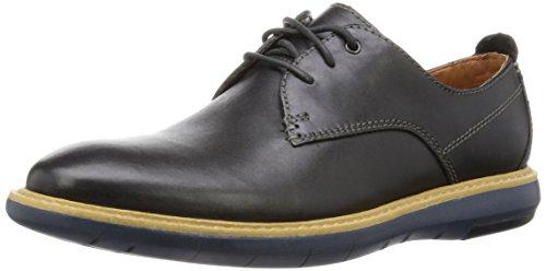 Scarpe uomo, colore Nero , marca CLARKS, modello Scarpe Uomo CLARKS FLEXTON PLAIN Nero Black Leather