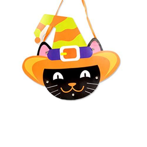 Regard Natral Halloween Papier Süßigkeiten-Beutel-Hand DIY Kürbis-Süßigkeit-Geschenk-Beutel KTV Stab-Partei-Dekor-Supplies