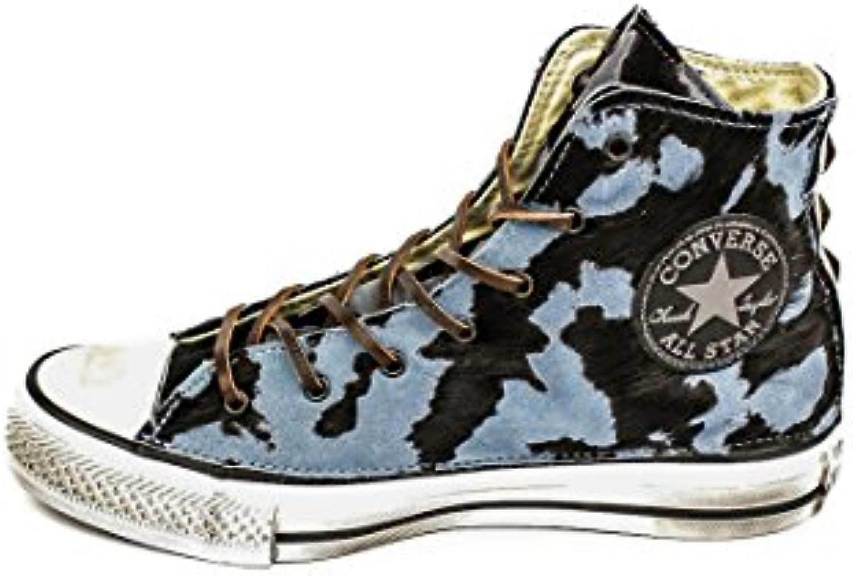 Converse Sneaker High Canvas LTH Ltd Himmelblau/Schwarz EU 40