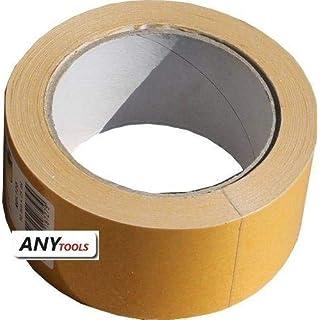 Antalis 4025648730764 Selbstklebebänder, Double-side, low noise, Polypropylen, 80µm, 50mm x 25.00m, Hotmelt, Schachtel zu 30 Stück weiß