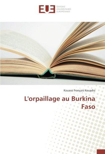 L'orpaillage au Burkina Faso