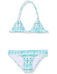 Chiemsee niña Luana Junior Triangle Bikini, niña, LUANA JUNIOR, Batastico Green, 6 años (116 cm)
