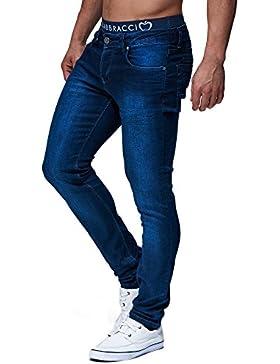 LEIF NELSON Herren Hose Jeans Jeanshose Freizeithose Skinny Denim LN301