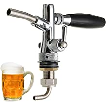 Dispensador de cerveza y grifo de cerveza ajustable con regulador de flujo para cerveza G5/