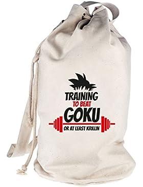Training To Beat Goku Or At Least Krillin, Seesack Umhängetasche Schultertasche Beutel Bag